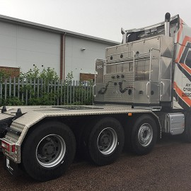 Volvo rear of cab module
