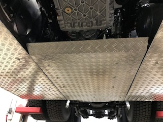 UNDER CHASSIS PROTECTION GUARDS
